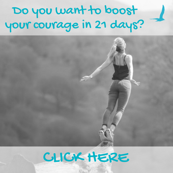boost your ocurage in 21 days